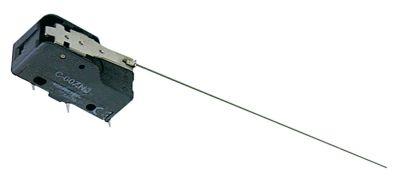 μικροδιακόπτης με μοχλό λειτουργία με μοχλό 250V 16A 1CO  σύνδεσμος αρσενικό εξάρτημα 6,3mm Μ 49mm