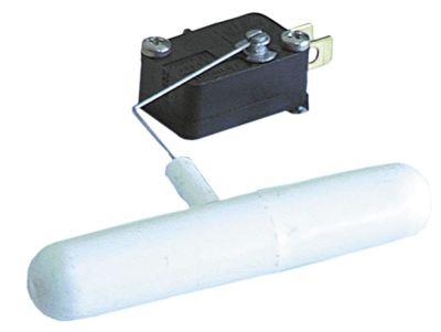 φλοτέρ 1CO  ø 15mm Μ 104mm 250V 6A αρσενικό εξάρτημα 6,3mm μήκος καλωδίου  -mm