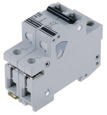 διακόπτης προστασίας αγωγών 1 πόλου + N 40A τύπος ενεργοποίησης K  ονομαστική τιμή 240V