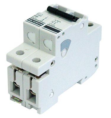 διακόπτης προστασίας αγωγών 1 πόλου + N 16A τύπος ενεργοποίησης K  ονομαστική τιμή 240V