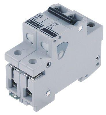 διακόπτης προστασίας αγωγών 1 πόλου + N 25A τύπος ενεργοποίησης K  ονομαστική τιμή 240V