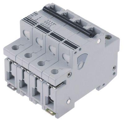 διακόπτης προστασίας αγωγών 3 πόλου + N 40A τύπος ενεργοποίησης K  ονομαστική τιμή 400V