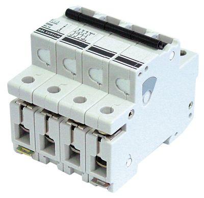 διακόπτης προστασίας αγωγών 3 πόλου + N 16A τύπος ενεργοποίησης K  ονομαστική τιμή 400V
