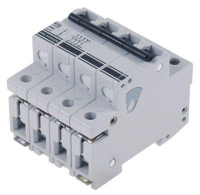 διακόπτης προστασίας αγωγών 3 πόλου + N 32A τύπος ενεργοποίησης K  ονομαστική τιμή 400V