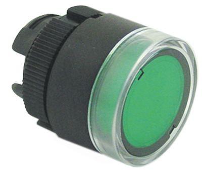 κουμπί διαστ. τοποθέτ. ø22mm  πράσινο