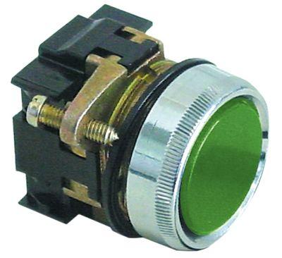 στιγμιαίος διακόπτης start ø30mm  πράσινο
