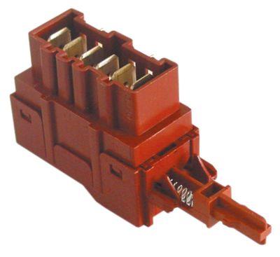διακόπτης 2CO  250V 16A σύνδεσμος αρσενικό εξάρτημα 6,3mm