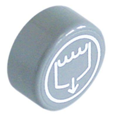κουμπί πίεσης ø 23mm γκρι αντλία αποστράγγισης