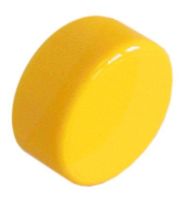 κουμπί πίεσης ø 23mm κίτρινο  -