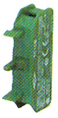 μπλοκ διακόπτη ERSCE  C10B  1NO  μέγ. 230V 10A πράσινο