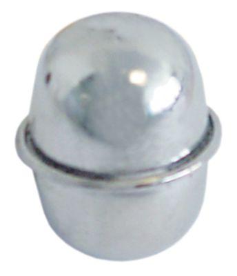 φλοτέρ χωρίς μαγνήτη ø 35mm Μ 50mm W  -mm H  -mm Ανοξείδωτο ατσάλι