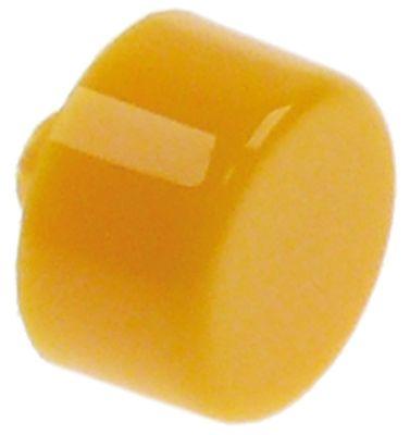 κουμπί πίεσης ø 11.9mm κίτρινο