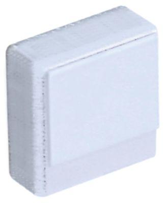 κουμπί πίεσης μέγεθος 23x23 mm λευκό  -  -