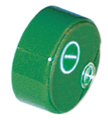 κουμπί πίεσης ø 23mm πράσινο κύριος διακόπτης με φακό