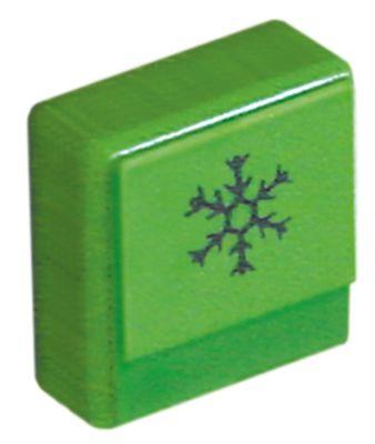 κουμπί πίεσης μέγεθος 23x23 mm πράσινο ξέπλυμα με κρύο νερό  -