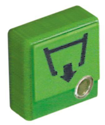 κουμπί πίεσης μέγεθος 23x23 mm πράσινο αντλία αποστράγγισης με φακό