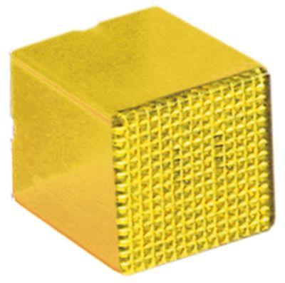 καπάκι ενδεικτικής λυχνίας μέγεθος 23x23 mm κίτρινο