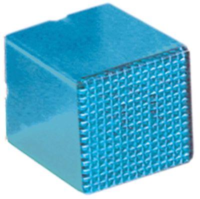 καπάκι ενδεικτικής λυχνίας μέγεθος 23x23 mm μπλε  -