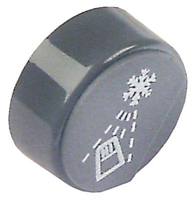 κουμπί πίεσης ø 23mm γκρι ξέβγαλμα  -