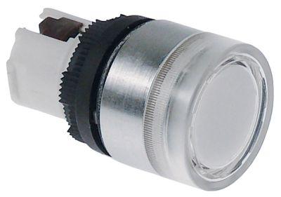 κουμπί πίεσης διαστ. τοποθέτ. ø22mm  μανδάλωση λευκό χωρίς διακόπτη