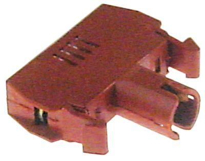 στοιχείο υποδοχής κόκκινο/καφέ 380V 0,01A υποδοχή Ba9s