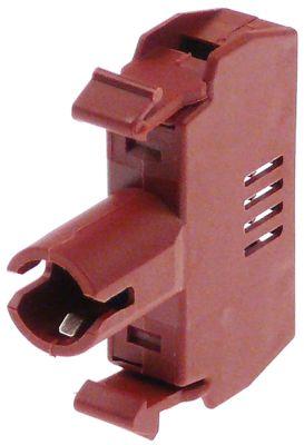 στοιχείο υποδοχής GENERAL ELECTRIC  187020 μέγ. 250V 0,01A κόκκινο/καφέ 2W υποδοχή Ba9s
