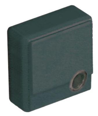 κουμπί πίεσης μέγεθος 23x23 mm μαύρο  - με φακό