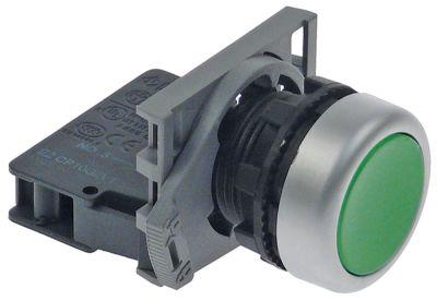κουμπί πίεσης ø22mm  πράσινο 1NO  πλήρες με κάλυμμα προστασίας