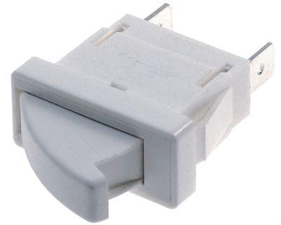 μικροδιακόπτης με κουμπί με κουμπί 250V 0,1A 1NC  σύνδεσμος αρσενικό εξάρτημα 6,3mm