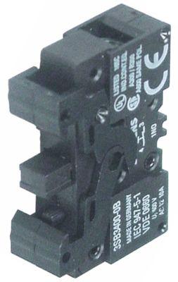 μπλοκ διακόπτη SIEMENS  3SB3400-0C  1NC  μέγ. 400V 10A μαύρο