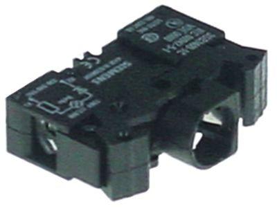 στοιχείο υποδοχής SIEMENS  3SB3400-1C  μαύρο μέγ. 250V υποδοχή Ba9s  250V