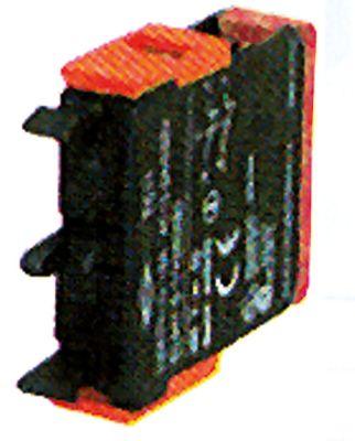 μπλοκ διακόπτη ERSCE  C02  2NC  μέγ. 400V 10(4) A κόκκινο/κόκκινο