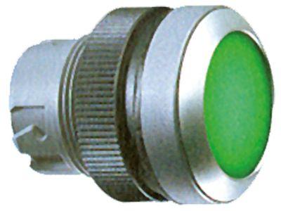 κουμπί πίεσης διαστ. τοποθέτ. ø22mm  στιγμιαίο πράσινο
