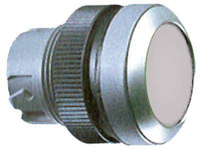 κουμπί πίεσης διαστ. τοποθέτ. ø22mm  μανδάλωση διαφανές