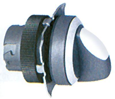 περιστροφικός επιλογέας διαστ. τοποθέτ. ø22mm  στιγμιαίο ακολουθία 0-1