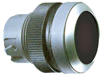 κουμπί πίεσης διαστ. τοποθέτ. ø22mm  στιγμιαίο μαύρο