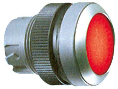 κουμπί πίεσης διαστ. τοποθέτ. ø22mm  στιγμιαίο κόκκινο