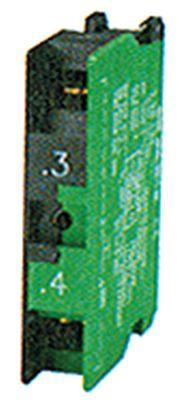 μπλοκ διακόπτη RAFI  5.00.100.140  1NO  μέγ. 400V 10A πράσινο