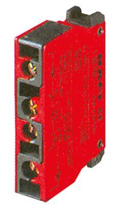 μπλοκ διακόπτη RAFI  5.00.100.141  2NC  μέγ. 400V 10A κόκκινο