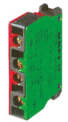 μπλοκ διακόπτη RAFI  5.00.100.143  1NC/1NO  μέγ. 400V 10A κόκκινο/πράσινο