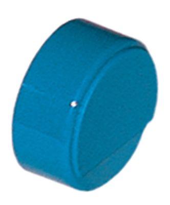 κουμπί πίεσης ø 23mm μπλε  -  -