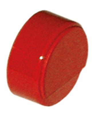 κουμπί πίεσης ø 23mm κόκκινο  -  -