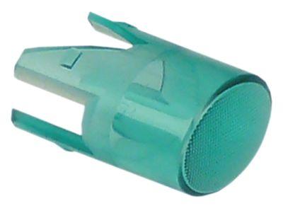 καπάκι ενδεικτικής λυχνίας μέγεθος 17x13 mm πράσινο  -  -