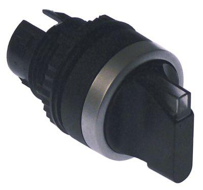 περιστροφικός επιλογέας διαστ. τοποθέτ. ø22mm  μανδάλωση ακολουθία 0-1  φωτιζόμενο