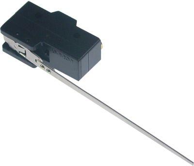 μικροδιακόπτης 3 με μοχλό λειτουργία με μοχλό 250V 15A 1CO  σύνδεσμος βίδα Μ 112mm Μ1 49mm