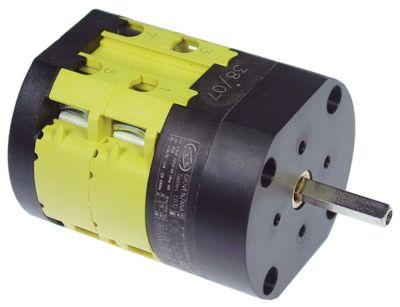 περιστροφικός διακόπτη 2 0-1  690V 32A σετ επαφών 4 ø άξονα 5x5 mm Μ άξονα 25mm