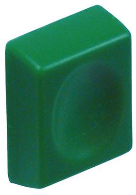 κουμπί πίεσης Μ 25mm W 19,5mm πράσινο