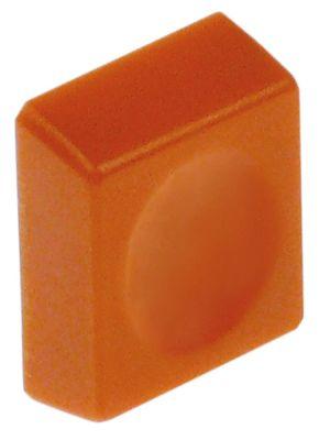 κουμπί πίεσης Μ 25mm W 19.5mm πορτοκαλί  -
