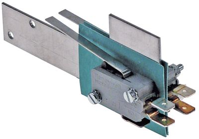 μικροδιακόπτης Ειδικό σχήμα κατασκευής 250V 16A 2CO  σύνδεσμος αρσενικό εξάρτημα 6,3mm