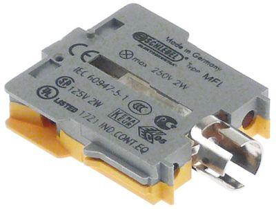 στοιχείο υποδοχής κίτρινο/γκρι υποδοχή Ba9s